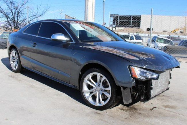 2015 audi s5 premium plus coupe quattro 7a salvage wrecked. Black Bedroom Furniture Sets. Home Design Ideas