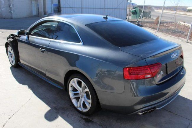 2015 audi s5 premium plus coupe quattro 7a salvage wrecked for sale. Black Bedroom Furniture Sets. Home Design Ideas