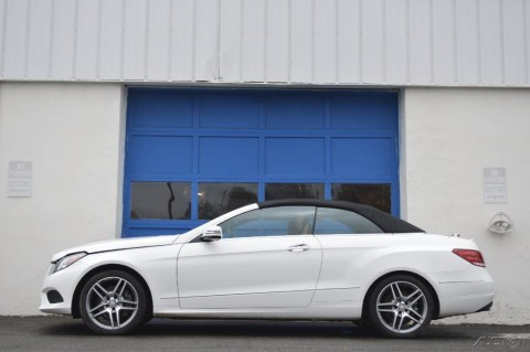2015 Mercedes Benz E400 Cabriolet Project Builder for sale