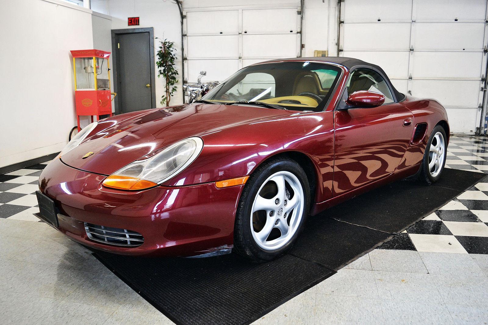 2000 Porsche Boxster Rebuildable For Sale