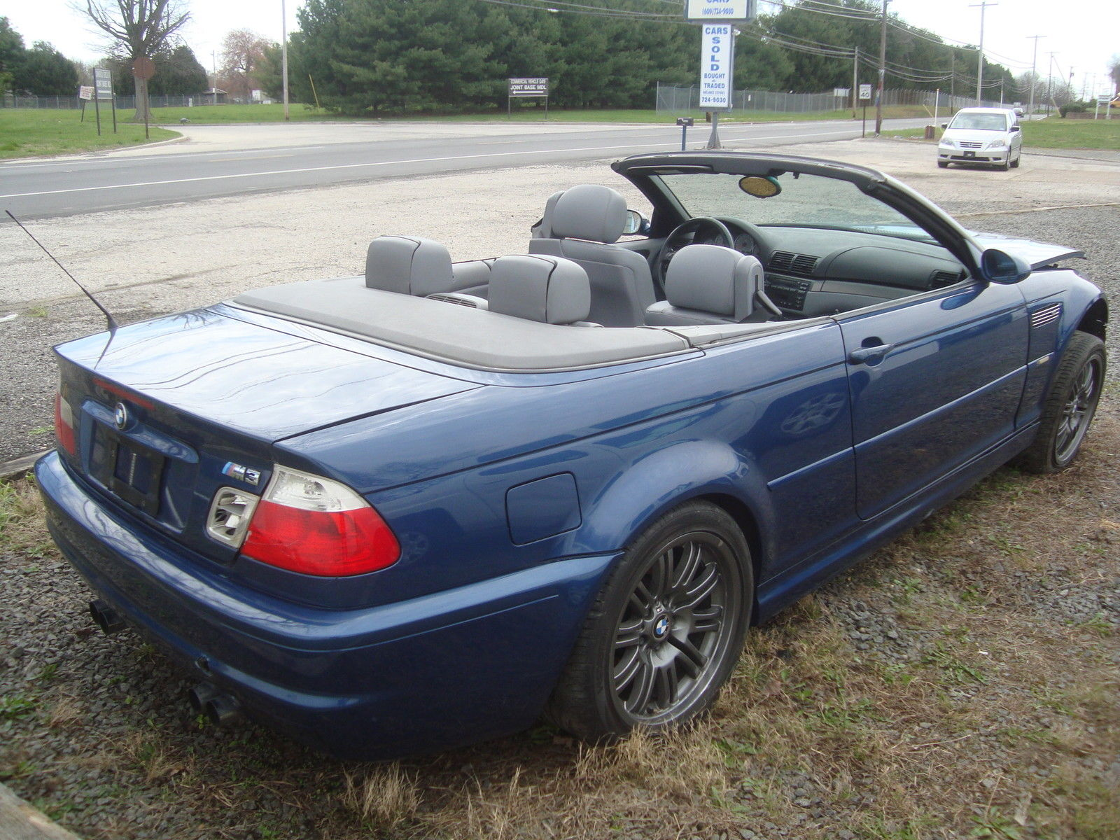 2002 Bmw M3 Convertible Salvage Rebuildable For Sale