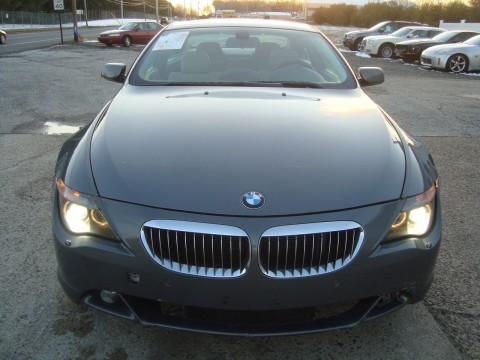 2005 BMW 645ci Sport Coupe Salvage Rebuildable for sale