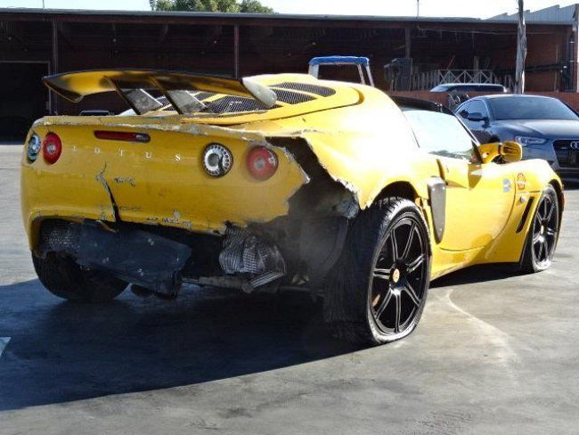 2006 lotus exige damaged salvage for sale. Black Bedroom Furniture Sets. Home Design Ideas