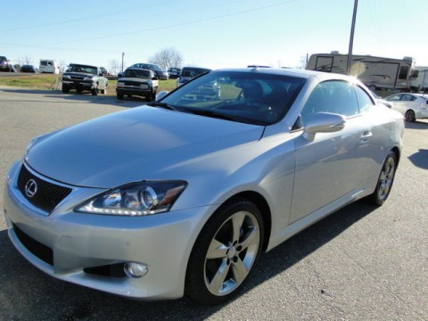 2011 Lexus IS 2dr Convertible Rebuilt Salvage for sale