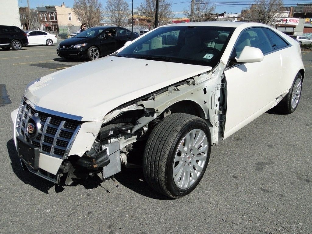 2017 Cadillac Ct6 3.6 L Premium Luxury >> 2012 Cadillac CTS 3.6L V6 RWD Coupe Repairable for sale