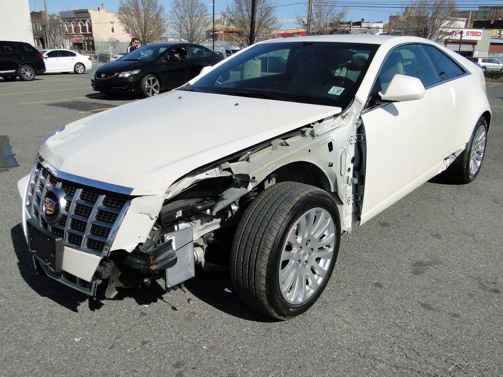 Cadillac Cts L V Rwd Coupe Repairable For Sale