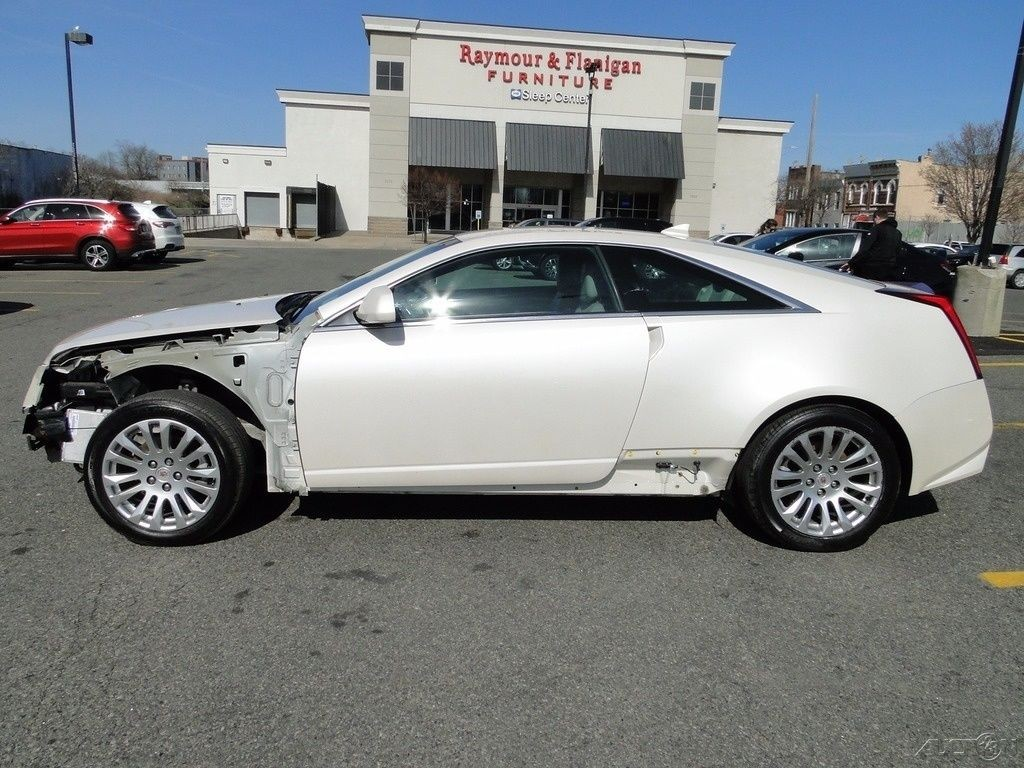 2017 Cadillac Cts 3.6 L Premium Luxury >> 2012 Cadillac CTS 3.6L V6 RWD Coupe Repairable for sale