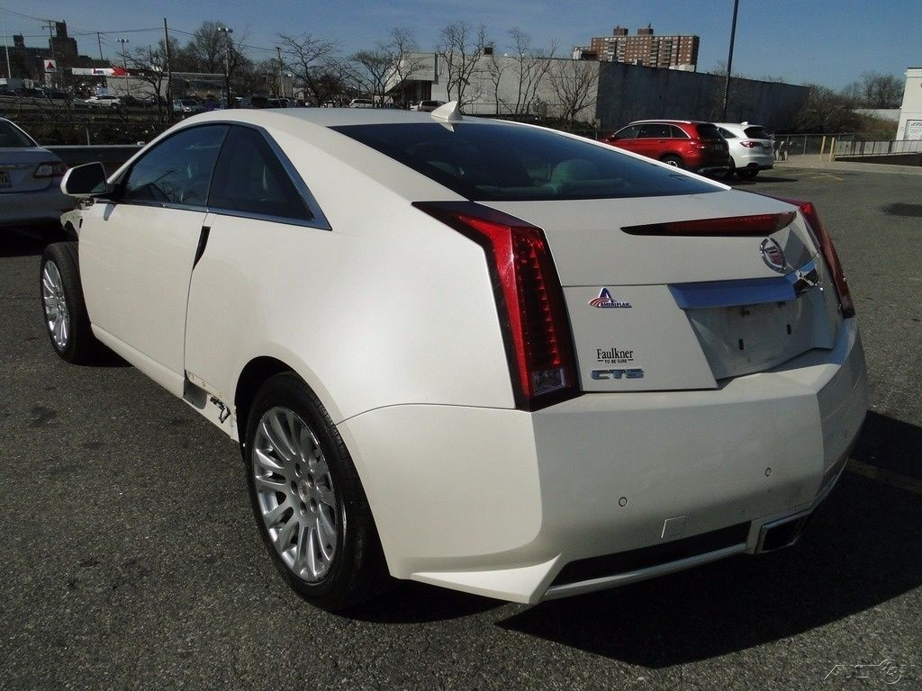 2012 Cadillac Cts 3 6l V6 Rwd Coupe Repairable For Sale
