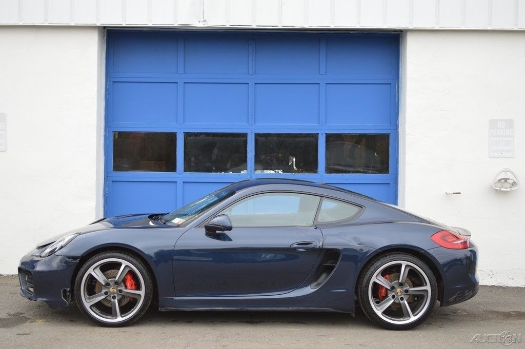 2014 Porsche Cayman S 3.4L Salvage Builder
