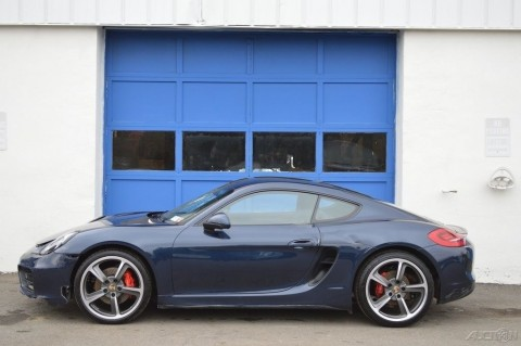 2014 Porsche Cayman S 3.4L Salvage Builder for sale