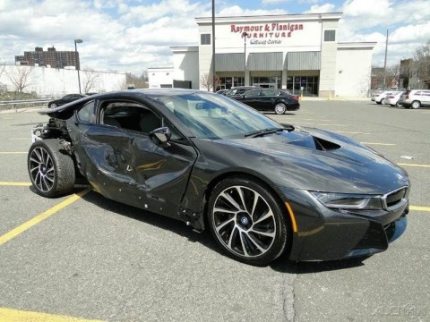 2015 BMW i8 Coupe Turbo 1.5L Automatic Repairable for sale