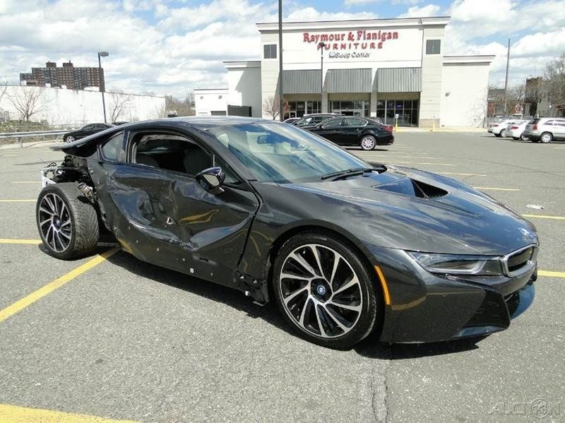 Wrecked Cars For Sale >> 2015 BMW i8 Coupe Turbo 1.5L Automatic Repairable for sale