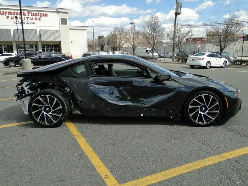 2015 Bmw I8 Coupe Turbo 1 5l Automatic Repairable For Sale