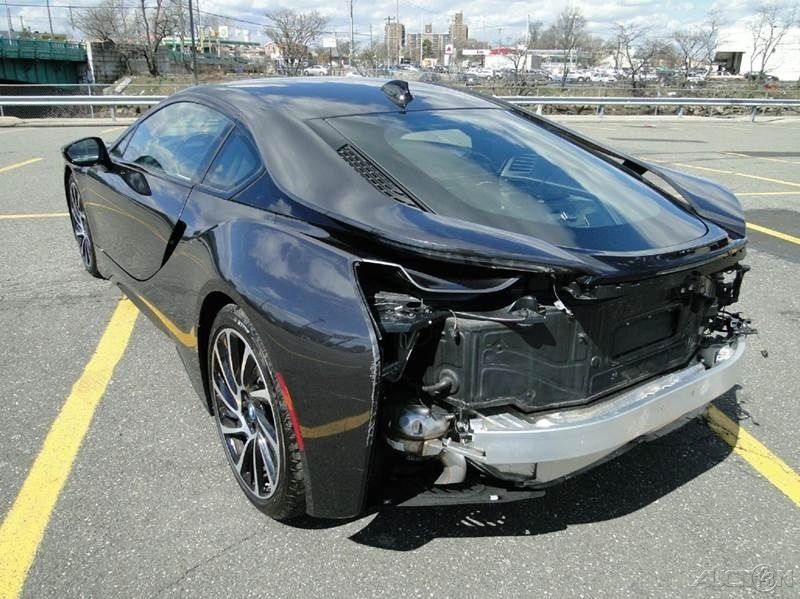 2015 bmw i8 coupe turbo 1 5l automatic repairable for sale. Black Bedroom Furniture Sets. Home Design Ideas
