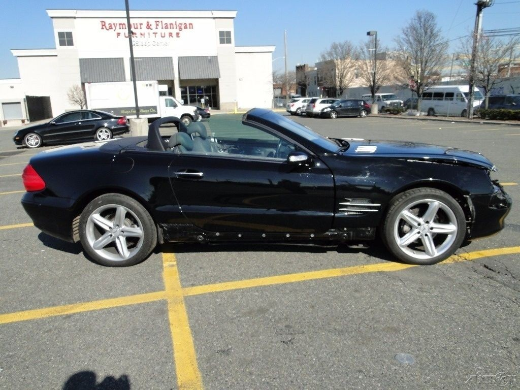 2004 mercedes benz sl500 convertible repairable for sale for Mercedes benz sl coupe for sale