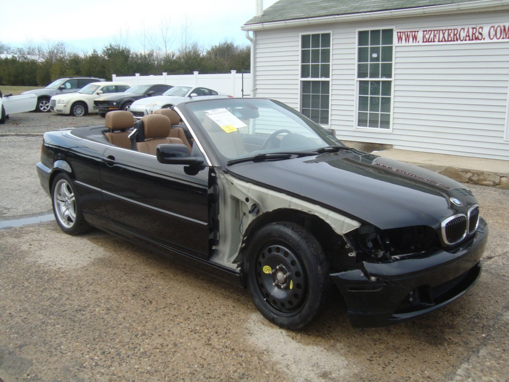 2005 bmw 3 series 330 cabriolet salvage rebuildable for sale. Black Bedroom Furniture Sets. Home Design Ideas