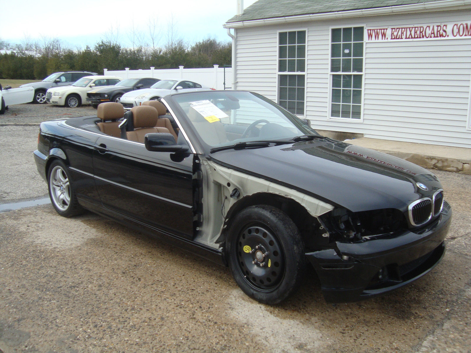 2005 Bmw 3 Series 330 Cabriolet Salvage Rebuildable For Sale