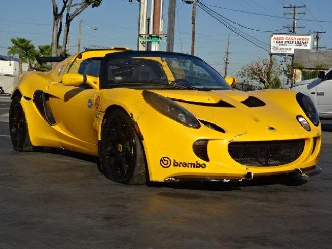 2006 Lotus Exige Damaged Salvage Repairable For Sale