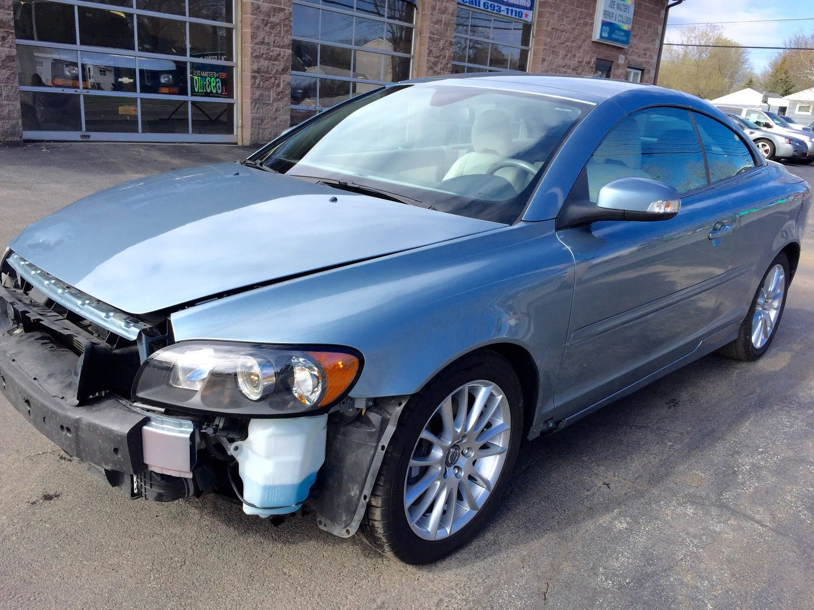 2009 Volvo C70 T5 Turbo Salvage for sale