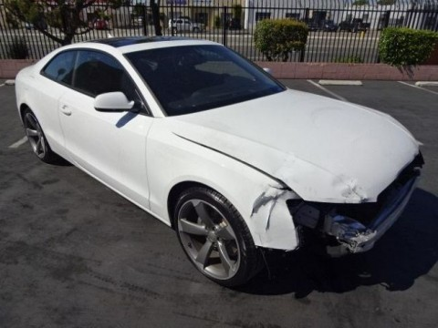 2011 Audi A5 Coupe 2.0T Quattro Tiptronic Salvage Wrecked for sale