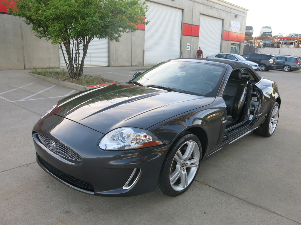 2011 jaguar xk convertible damaged wrecked for sale. Black Bedroom Furniture Sets. Home Design Ideas