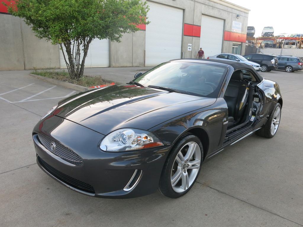 2011 Jaguar XK Convertible Damaged Wrecked for sale
