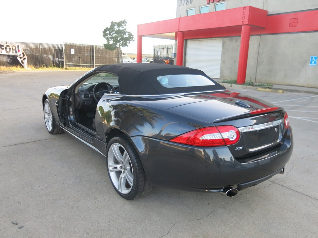 2011 Jaguar Xk Convertible Damaged Wrecked For Sale