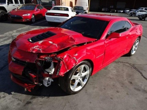 2014 Chevrolet Camaro 2SS Coupe Salvage Wrecked for sale