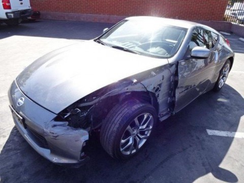 2014 Nissan 370Z Coupe Touring Salvage Wrecked for sale