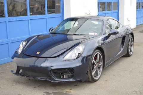 2014 Porsche Cayman S 3.4L Rebuildable Salvage for sale