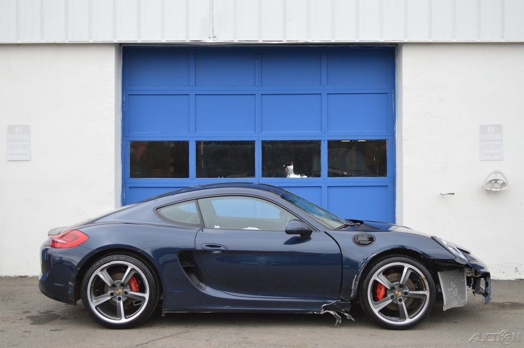 2014 Porsche Cayman S 3.4L Rebuildable Salvage