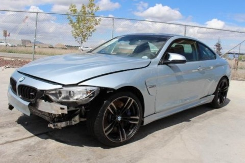 2015 BMW M4 Coupe Salvage Wrecked for sale