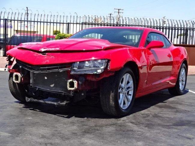 2015 Chevrolet Camaro LT Damaged Repairable