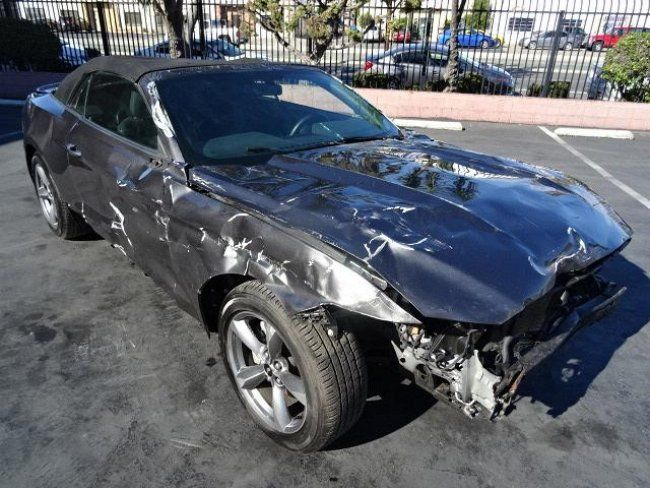 Ford Mustang V Convertible Wrecked Project For Sale