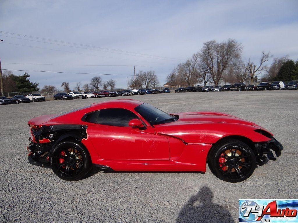 2013 Dodge Viper Srt Salvage For Sale