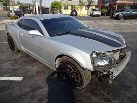 2014 Chevrolet Camaro LS Wrecked Salvage Project for sale