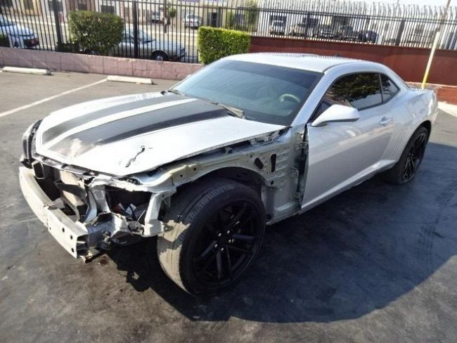 2014 Chevrolet Camaro LS Wrecked Salvage Project