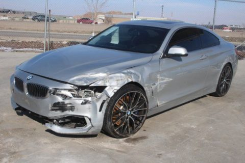 2014 BMW 4 Series 435i xDrive Wrecked Salvage Project for sale