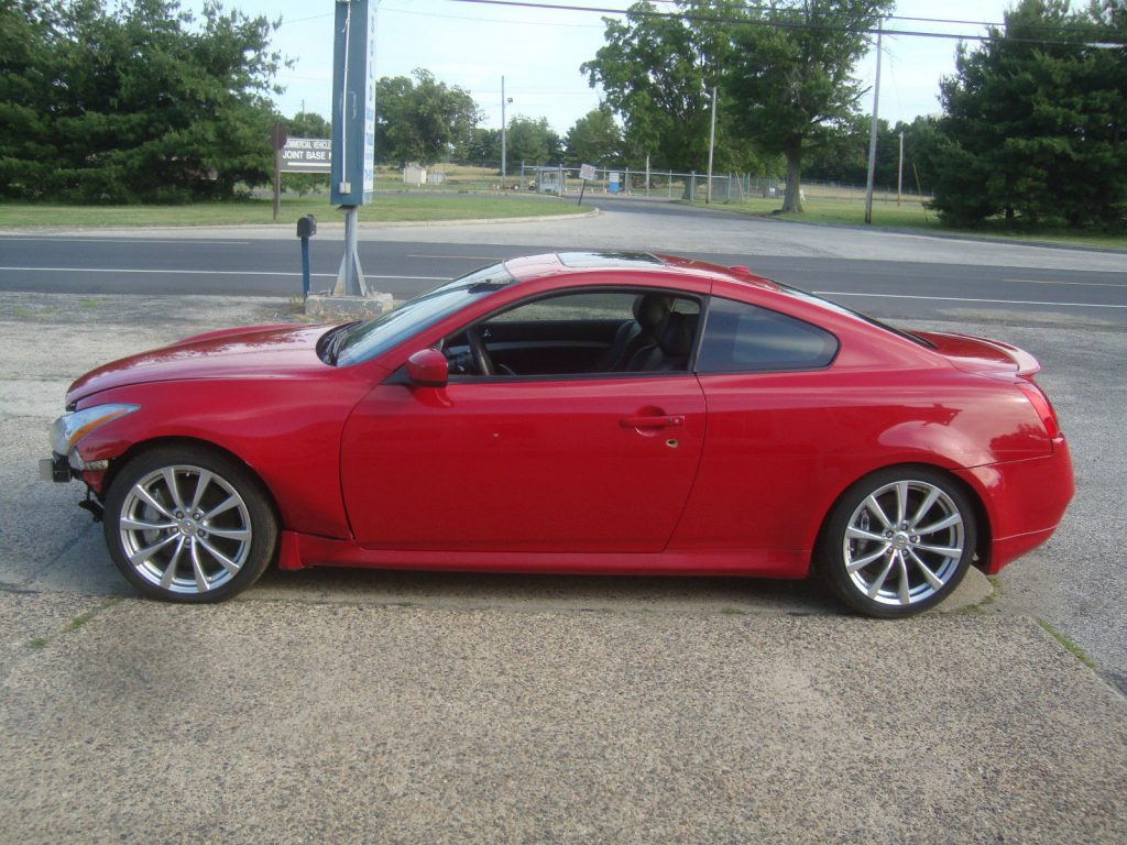 2008 infiniti g37s coupe rebuildable repairable for sale. Black Bedroom Furniture Sets. Home Design Ideas