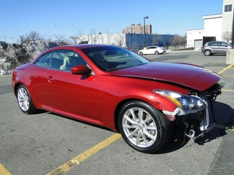 Damaged 2014 Infiniti Q60 Repairable Rebuilder for sale