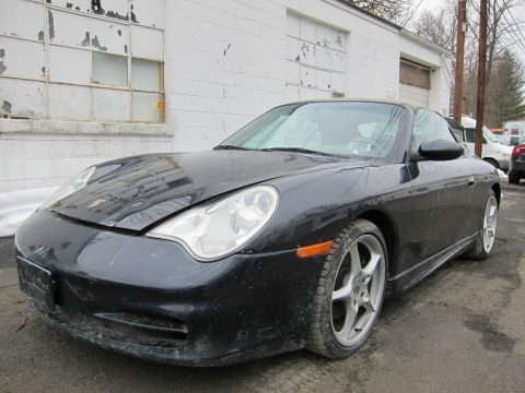 Damaged and repairable 2004 Porsche 911 noisy engine for sale