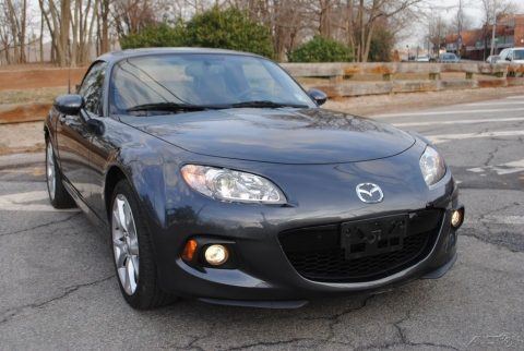 Equipped 2014 Mazda MX 5 Miata Grand Touring wrecked repairable for sale
