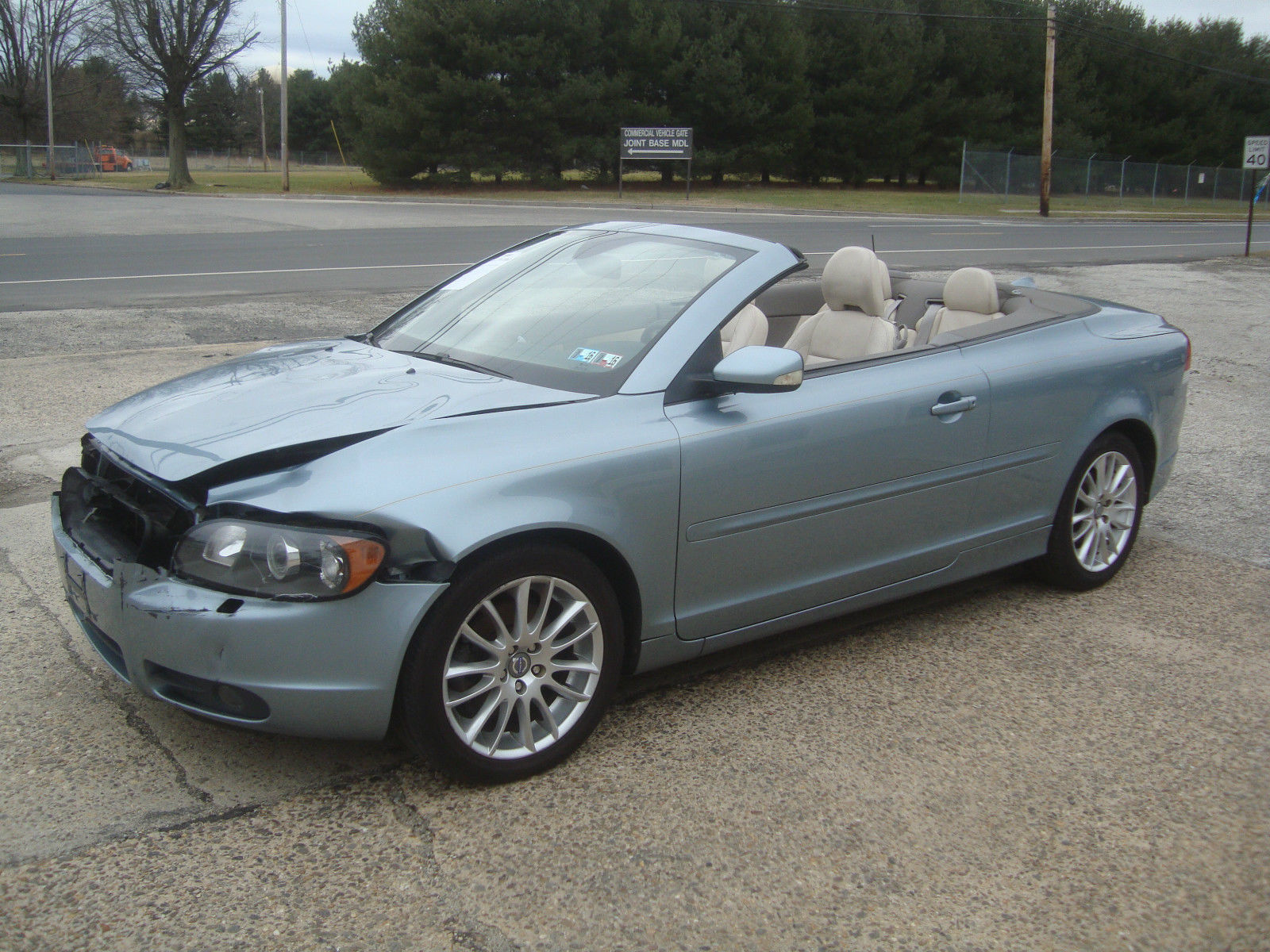 Volvo C70 Convertible >> Lightly damaged 2007 Volvo C70 Convertible Rebuildable ...