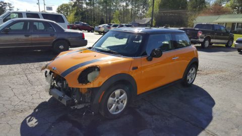 New body style 2014 Mini Cooper Repairable Rebuildable for sale