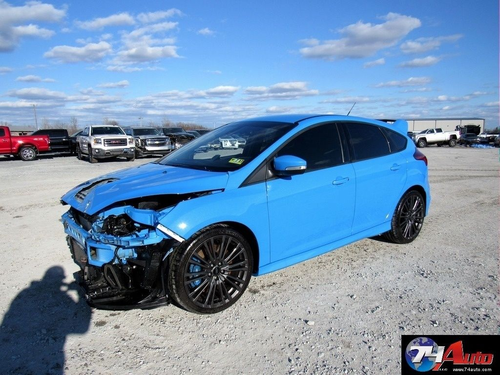 rebuildable export 2016 ford focus damaged repairable for sale. Black Bedroom Furniture Sets. Home Design Ideas