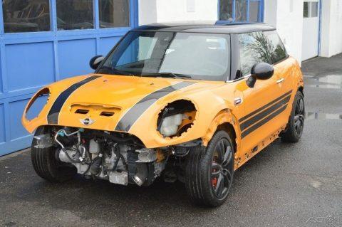 Stripped 2016 Mini Cooper repairable for sale