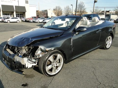 Wrecked 2010 Lexus IS C Convertible repairable rebuildable for sale