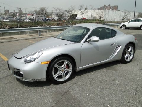Wrecked 2010 Porsche Cayman S repairable, good engine for sale
