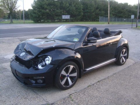 Easy front damage 2013 Volkswagen New Beetle Turbo Rebuildable Repairable for sale