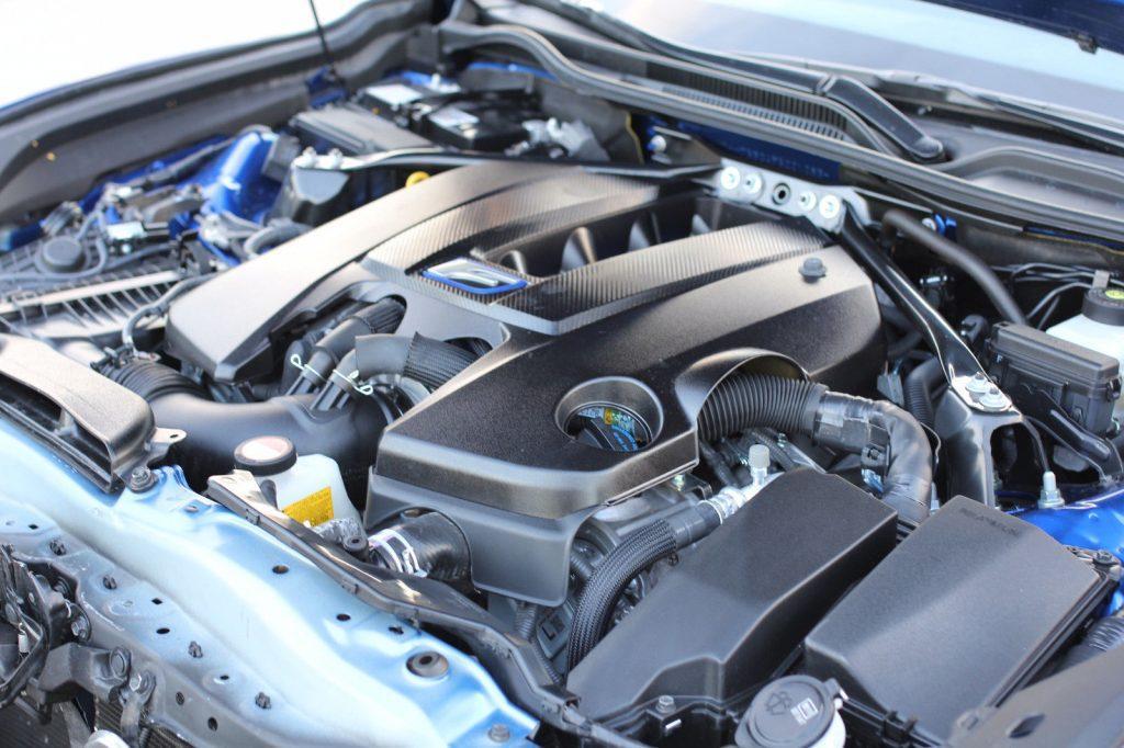 Front hit 2015 Lexus RC F repairable